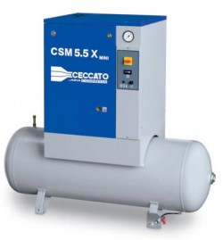 Винтовой компрессор Ceccato CSM 7,5 8 DX 200L