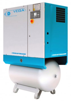 Винтовой компрессор Kraftmann VEGA 11 O R 270 (10 бар)