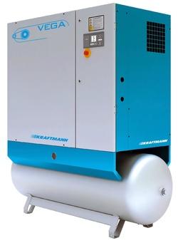 Винтовой компрессор Kraftmann VEGA 15 R 500 (10 бар)